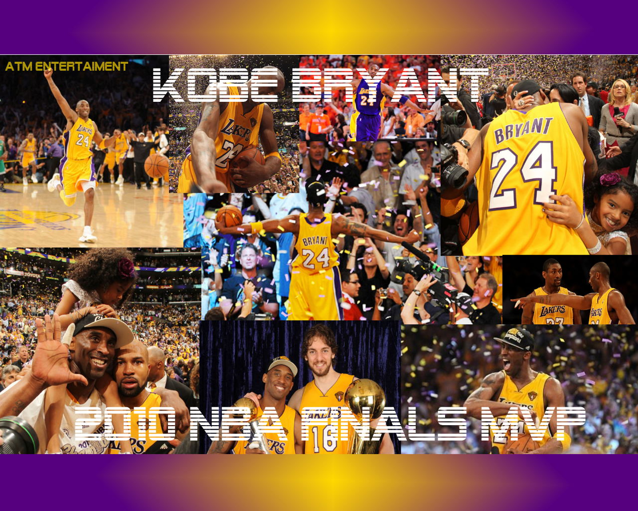 Kobe Bryant 2010 Finals MVP Downloads! | ATM Entertainment