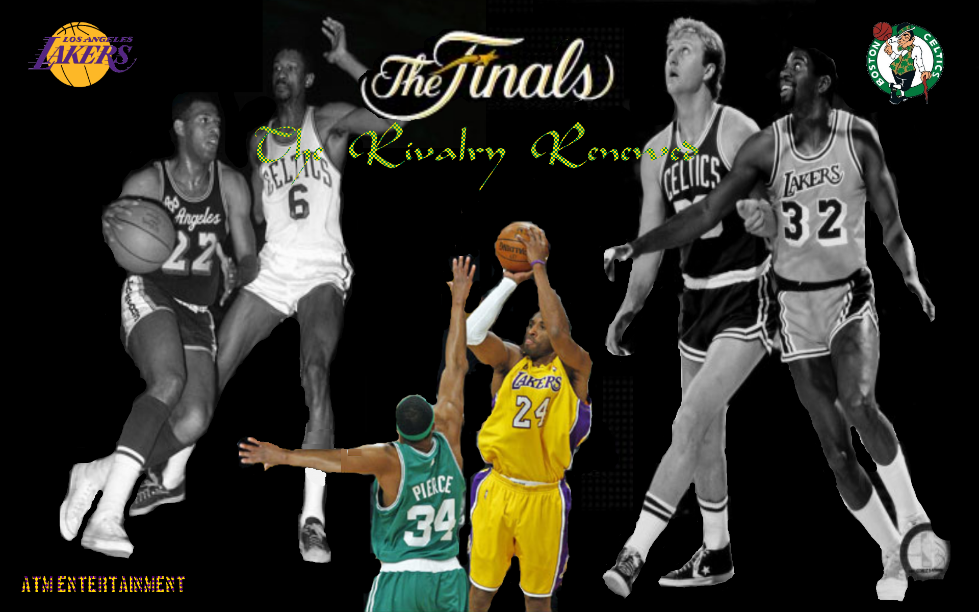 "Lakers-Celtics ""The Rivalry Renewed"" Wallpaper Now ..."